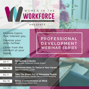 Women In The Workforce webinar platform hosts Strategies To Take The Stress Out of Managing People