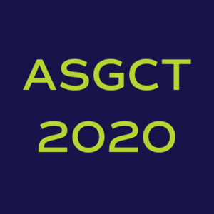 ASGCT 23rd Annual Meeting  webinar platform hosts Tools and Technologies Forum I