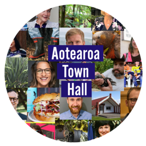 Aotearoa Town Hall webinar platform hosts Part 1: Shaping the Recovery