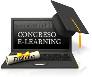 Congreso Virtual Mundial de e-Learning webinar platform hosts Mi recorrido hacia el e-learning