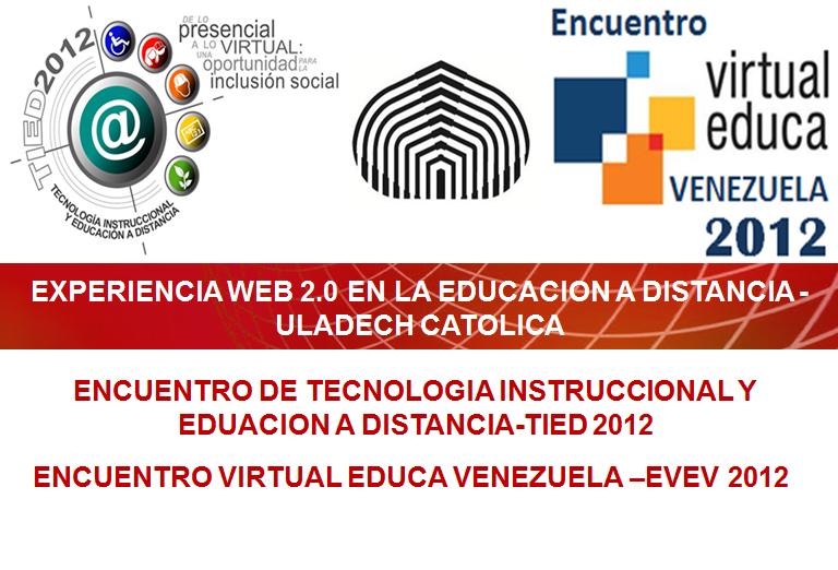 ExperienciaUladech webinar platform hosts Experiencia web 2.0 en la Educación a Distancia