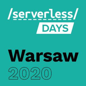 Warsaw Serverless Days 2020 webinar platform hosts From development to production: the many uses of serverless observability