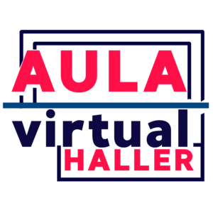 Aula Virtual Haller webinar platform hosts Mtra. Fabiola Feb