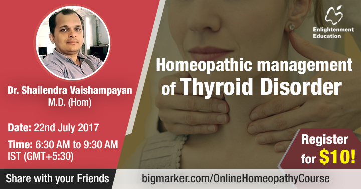 Homoeopathic approach towards thyroid disorders