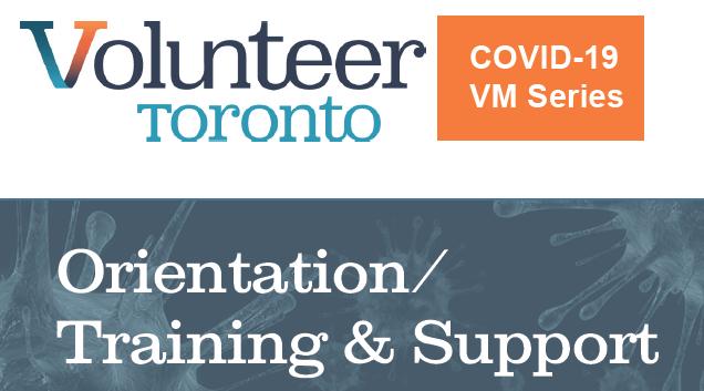 Webinar Orientation Training Support During Covid 19 By Volunteer Toronto