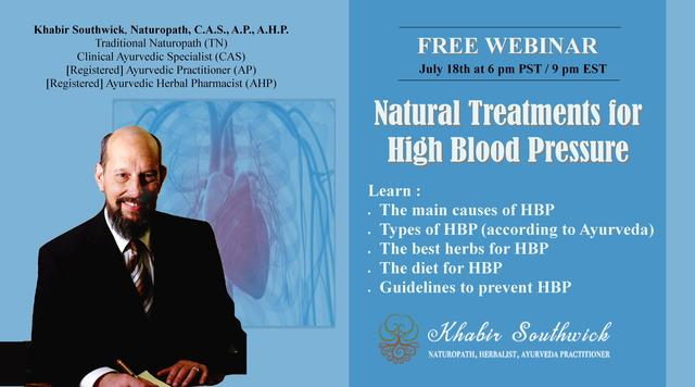 Webinar: test by Natural Healing Consultants of Ojai