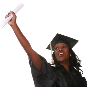 Graduationtransparent