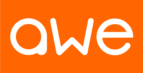 Awe-logo-white_on_orange_no_tagline
