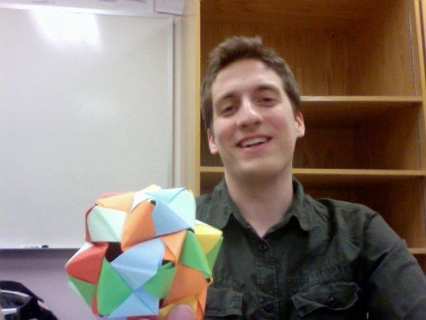 Webinar hosting presenter James Cleveland
