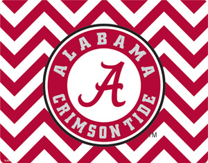 Alabama-chevron-print