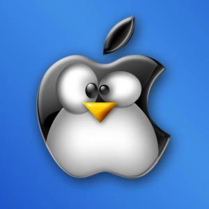 Apple-tux
