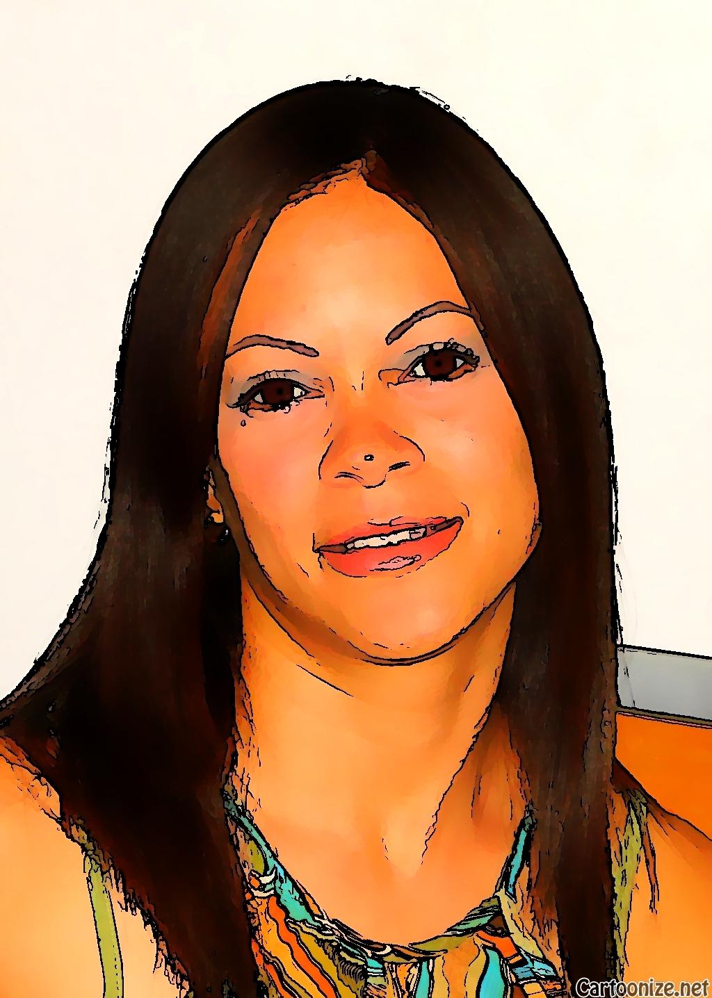 Webinar hosting presenter Dámaris Velázquez Couvertier