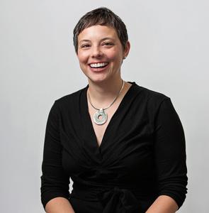 Webinar hosting presenter Amy C
