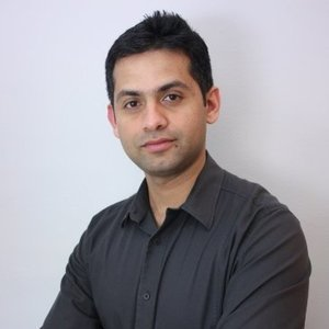 Webinar hosting presenter Sachin Hegde