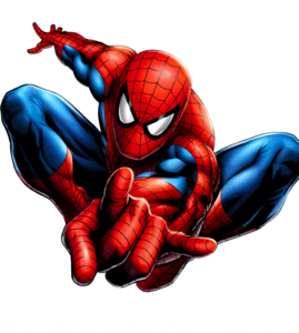 Webinar hosting presenter Spider-Man