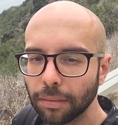 Webinar hosting presenter Andrew Rodriguez