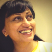Webinar hosting presenter Radhika S