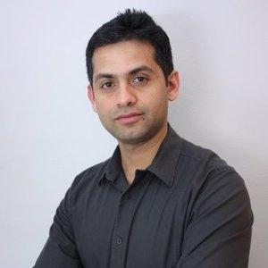 Webinar hosting presenter Sachin Hegde