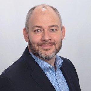 Webinar hosting presenter Ben Pinkerton