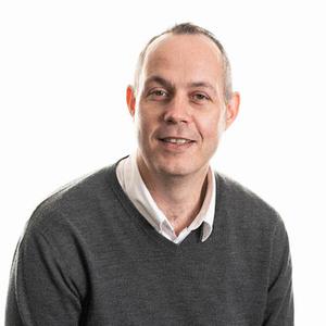 Webinar hosting presenter Colin Munro