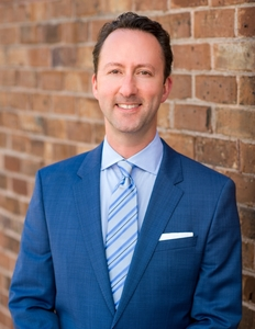Webinar hosting presenter Brian Greenberg
