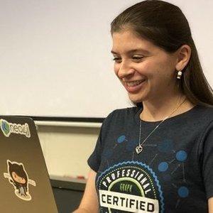 Webinar hosting presenter Jennifer Reif