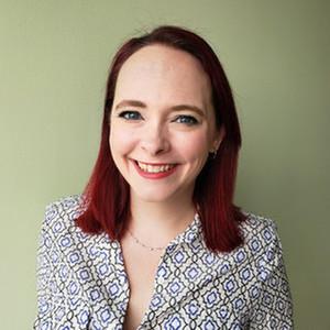 Webinar hosting presenter Alicia Frame