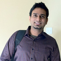 Webinar hosting presenter Deepak Chandramouli
