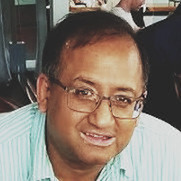 Webinar hosting presenter Ravi Krishnaswamy