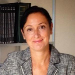Webinar hosting presenter Andrea G