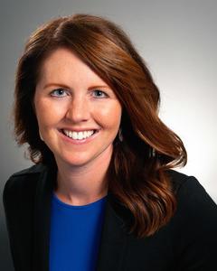 Webinar hosting presenter Sarah Bush