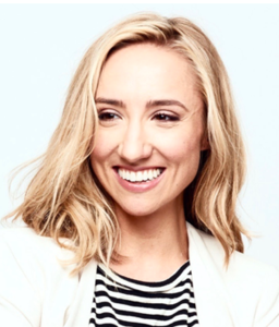 Webinar hosting presenter Liz