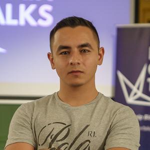 Webinar hosting presenter Luuk Weber