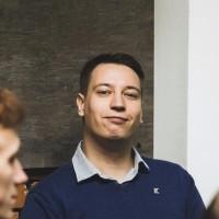 Webinar hosting presenter Alexander Ageychenko