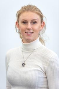 Webinar hosting presenter Hayley Green