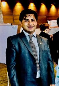 Webinar hosting presenter Manoj Poudel MD