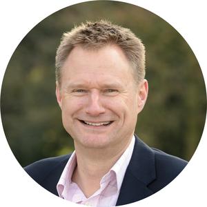 Webinar hosting presenter James Salmon