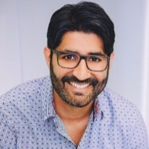 Webinar hosting presenter Gurminder Kandola
