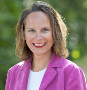 Webinar hosting presenter Dr. Mirna L