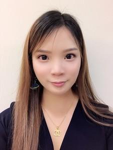 Webinar hosting presenter Lee Wen Fen