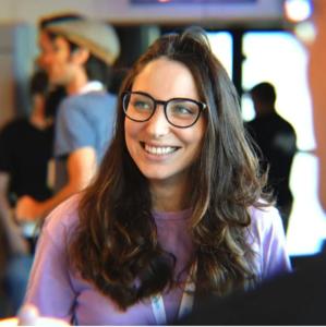 Webinar hosting presenter Tamar Ottolenghi