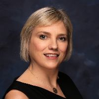 Webinar hosting presenter Virginia Goff