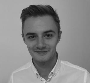 Webinar hosting presenter Adam Hermann