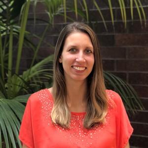 Webinar hosting presenter Kristina Sherrett