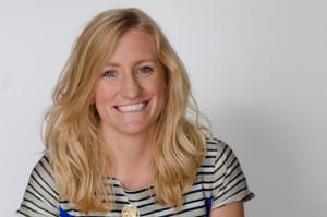 Webinar hosting presenter Abby Ross