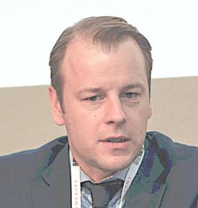 Webinar hosting presenter Alex Haubert