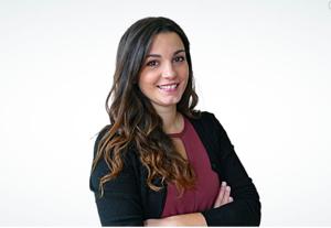Webinar hosting presenter Ilaria Ceddia