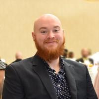 Webinar hosting presenter David McHale