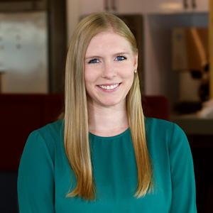Webinar hosting presenter Rose Frommelt