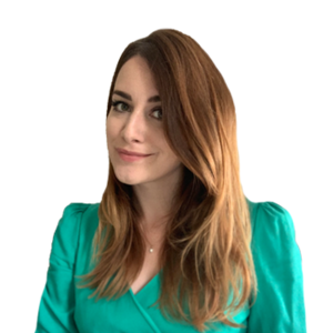 Webinar hosting presenter Sara Ledger
